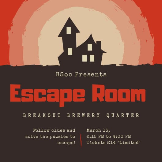 Escape rooms with BSoc