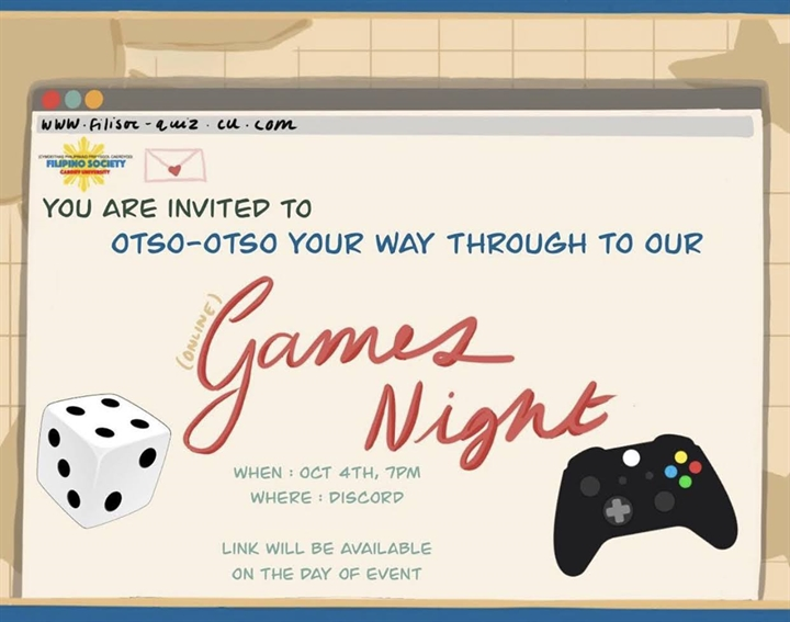 Otso Otso your way through to our Games Night!