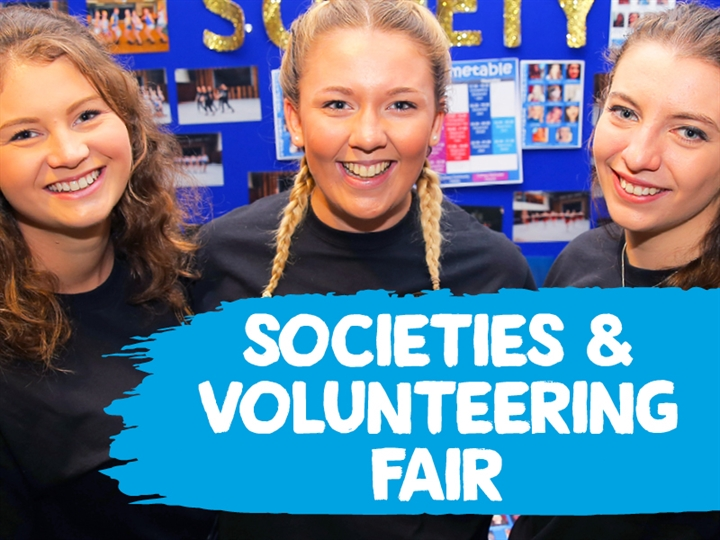 Societies and Volunteering Fair Day 2