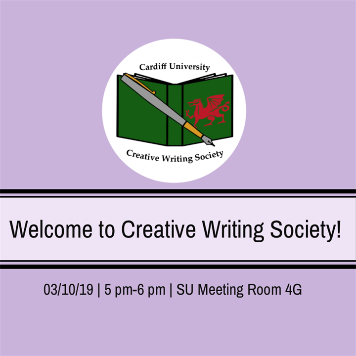 Welcome to Creative Writing Society!