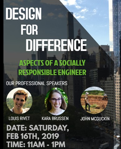 Design for Difference – EWB Speaker Event