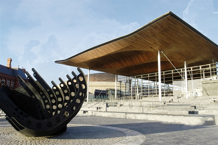 Freshers Tour of the Welsh Assembly (Senedd)