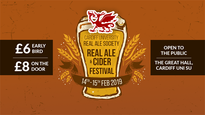 Real Ale & Cider Festival 2019, Cardiff University