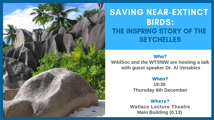 Saving near-extinct birds - The inspiring story of the Seychelles (WTSWW Talk)