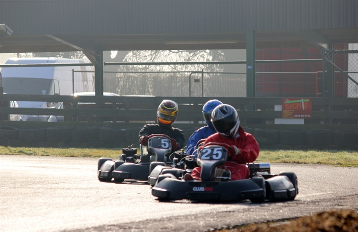 Go-Karting Freshers Cup Session 1