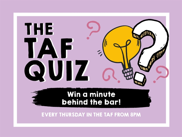 Quiz with special guest Shaun Wallace from The Chase