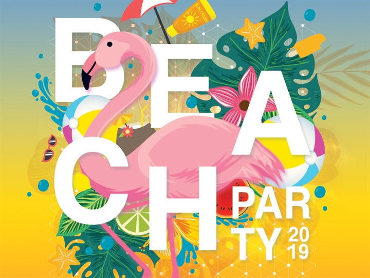 Beach Party Ft. guest appearance from Love Island Stars!