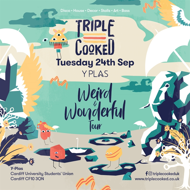 Triple Cooked: Cardiff - Weird & Wonderful