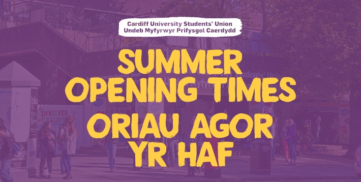 Summer Opening Times