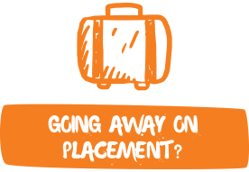 Going away on placement?