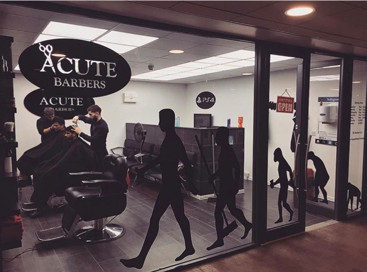 Acute Barbers Store Front